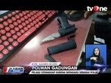 Polisi Sita Senjata Tajam dan Pistol dari Polwan Gadungan