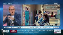 La chronique d'Anthony Morel : Payer avec un sourire, bientôt possible ? - 11/09