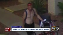 Valley boy's special bike stolen and returned