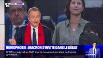 """ÉDITO - """"Il ne faut pas lâcher les sanctions"""" contre les chants homophobes dans les stades"""