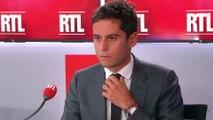 Gabriel Attal, invité de RTL du 11 septembre 2019