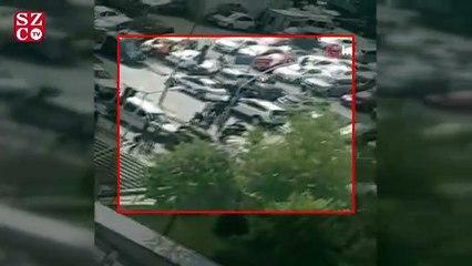 Kartal Anadolu Adliyesindeki silahlı saldırıya ait yeni görüntüler ortaya çıktı