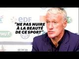 Didier Deschamps soutient Noël le Graët après ses déclarations sur l'homophobie dans les stades