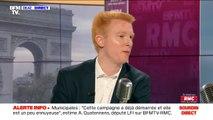 """Décrocheurs de portraits d'Emmanuel Macron: Adrien Quatennens """"soutient ceux invités à comparaître"""""""