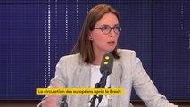 """""""Nous on a une règle, c'est qu'on travaille avec tous les Premiers ministres"""", assure Amélie de Montchalin, secrétaire d'Etat aux Affaires européennes, à propos de Boris Johnson"""