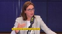 """""""Il faut que la justice suive son cours"""", indique Amélie de Montchalin, à propos de Sylvie Goulard, commissaire au Marché intérieur, entendue par les enquêteurs"""
