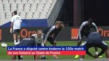 Bleus - 100 matches au Stade de France