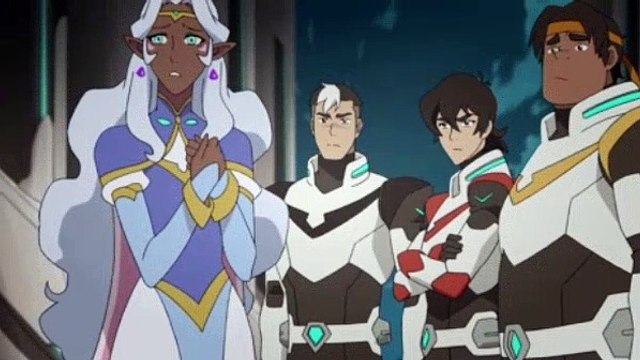 VOLTRON Legendary Defender Season 1 Episode 4 - Fall Of The Castle Of Lions