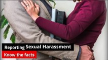 Sexual harassment - Reporting sexual harassment