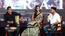 Salman Khan & Katrina Kaif At The Launch Of Song Of The Film 'Bharat'
