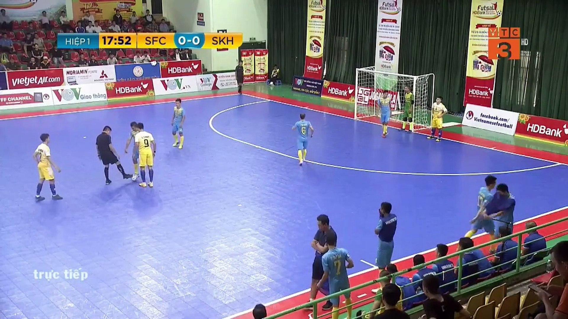 Trực tiếp | Sahako - Sanvinest Sanna KH | Futsal HDBank 2019 | VFF Channel