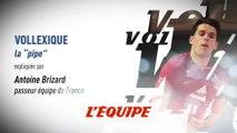 L'attaque en «pipe» par Antoine Brizard - Volley - Euro (H) - Le Vollexique
