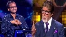 Amitabh Bachchan's KBC 11: Sanoj Raj becomes first Crorepati of this season | FilmiBeat