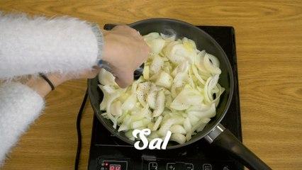 Sopa de cebolla fácil de preparar para 4 personas