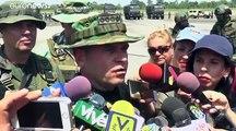 Venezuela : des exercices militaires à la frontière colombienne