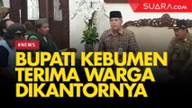 Usai Bentrok dengan TNI, Warga Urut Sewu Diterima Bupati Kebumen di Kantornya