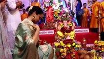 Kangana Ranaut Visits Andheri Cha Raja For Ganpati Darshan