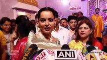 Kangana Ranaut Visit's Andheri Cha Raja | Ganpati Bappa Morya | Full Video