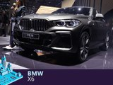 BMW X6 en direct du salon de Francfort 2019