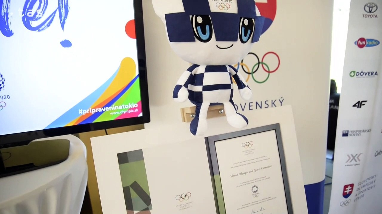 OH Tokio: SOV: Anton Siekel symbolicky odoslal podpísanú prihlášku na letné Olympijské hry v Tokiu