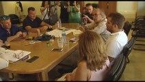 Συνάντηση Παπαθωμά με τη νέα δήμαρχο Ορχομενού Βούλα Καράλη