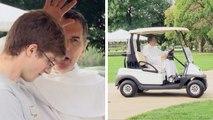 Un prêtre transforme une voiturette de golf en confessionnal