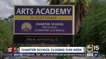Valley charter school announces it will close this week