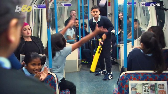 Kids Storm London Subway Car to Play Game of Cricket