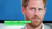Le Prince Harry a lancé une initiative de voyage vert