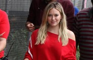 Hilary Duff shaves her nose