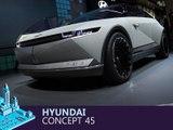 Hyundai Concept 45 en direct du salon de Francfort 2019