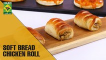 Soft Bread Chicken Roll   Flame On Hai   Masala TV Show   Irfan Wasti