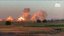 इराक में आईएस के ठिकानों पर बरसाए बम