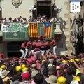Los espectaculares castellers en los festivales de Cataluña