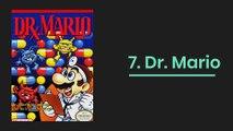 Los videojuegos más vendidos la NES