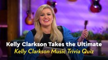 We Quizzed Kelly Clarkson on Her Own Music Trivia, and Yep, We're Still Laughing