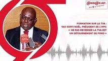 Formation sur la TVA : Yao Koffi Noël, président de l'IPPC« Ne pas reverser la TVA est un détournement de fond »
