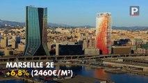 Top 10 des plus fortes hausses des prix immobiliers dans les Bouches-du-Rhône