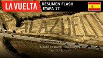 Resumen Flash - Etapa 17 | La Vuelta 19