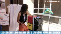 Les concepts innovants des 5 lauréats Make The Choice