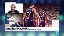 """Mondial de basket : """"C'est en défense que la France a construit sa victoire"""""""