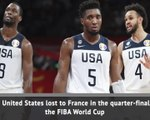 USA knocked out of FIBA World Cup by France