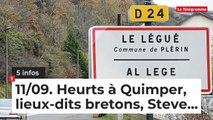 Le Tour de Bretagne en 5 infos - 11/09/19