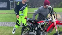 The Motorcross Bikers From The Nitro World Games!