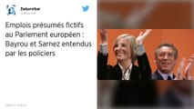 Assistants parlementaires MoDem : François Bayrou et Marielle de Sarnez entendus par les policiers