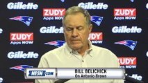 Bill Belichick Responds To Questions On Antonio Brown Rape Allegations