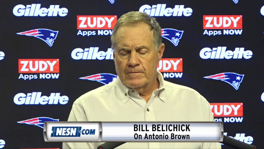 Bill Belichick Responds To Questions On Antonio Brown Rape Allegations