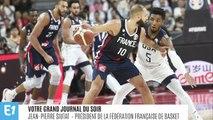 """Victoire des Bleus en quart de finale du mondial de basket : """"On a des joueurs de classe mondiale"""", salue le président de la FFBB"""