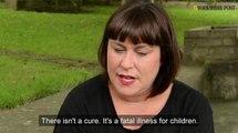 Leeds' toddler Connie Annakin, who has Batten Disease