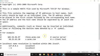 How to Block Any Website Using Hosts File in Windows 10?